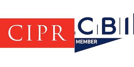 CIPR / CBI Leadership Programme tickets