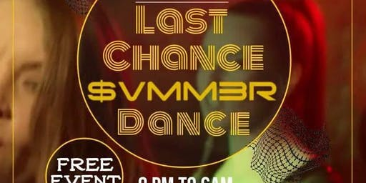 Klubbin' In Kato Presents Last Chance Summer Dance