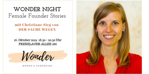 WONDER NIGHT - Female Founder Stories