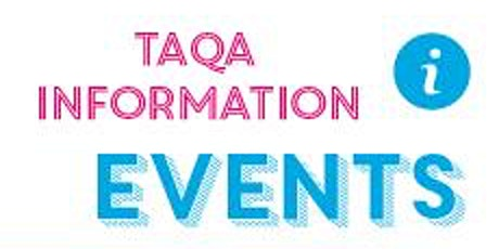 TAQA Level 3 Information Evening: Wednesday 22nd January 2020 tickets