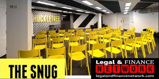 Legal & Finance Network - CPD @ Huckletree