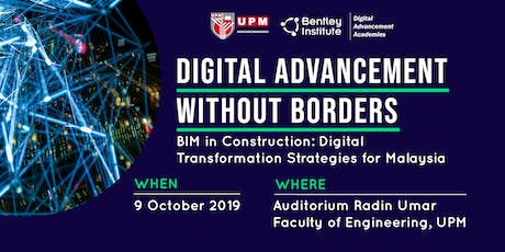 BIM In Construction: Digital Transformation Strategies for Malaysia tickets