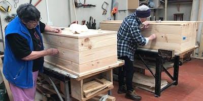 Community Coffin Club Workshop, 9am to 10:15am