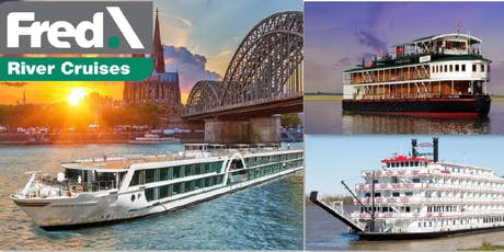 Discover River Cruising Around The World with Connoisseur & Fred Rivers tickets