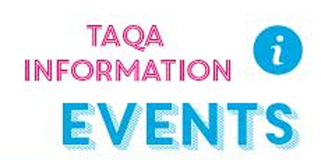 TAQA Level 4 Information Evening: Wednesday 29th January 2020 tickets