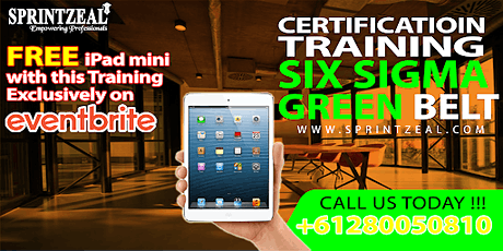 Six Sigma Green Belt Certification Training in Melbourne tickets