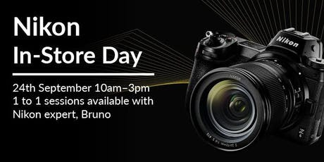 Nikon In-store Day tickets