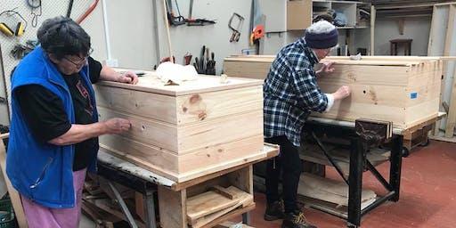 Community Coffin Club Workshop, 10:45am to 12pm