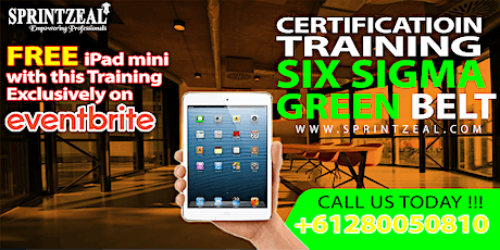 Six Sigma Green Belt Certification Training in Adelaide tickets
