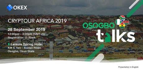 OKEx Cryptour Africa 2019 - Osogbo tickets