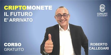 CriptoMonete: corso Base a Tavagnasco (TO) biglietti