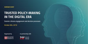 Seminar event: TRUSTED POLICY-MAKING IN THE DIGITAL...