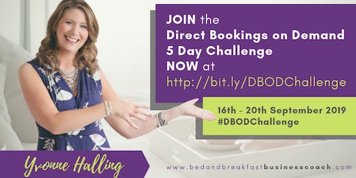 Direct Bookings On Demand Free 5 Day Challenge