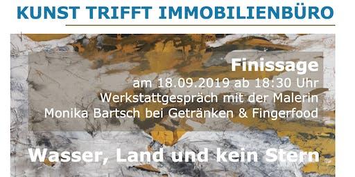 Finissage inkl. Werkstattgespräch mit der Malerin Monika Bartsch