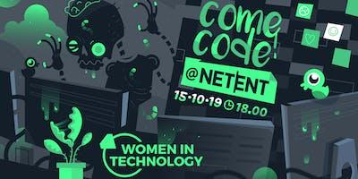 ComeCode@NetEnt