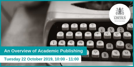 An Overview of Academic Publishing tickets