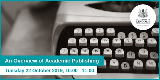 An Overview of Academic Publishing