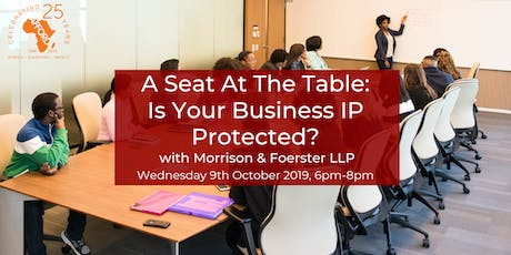 A Seat At The Table: Is Your Business IP Protected? tickets