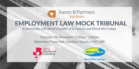 Employment Law Mock Tribunal tickets