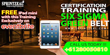 Six Sigma Green Belt Certification Training in Darwin tickets