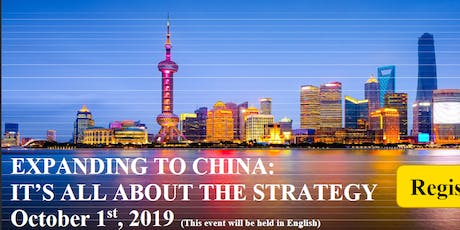 Expanding to China - it is all about the strategy tickets