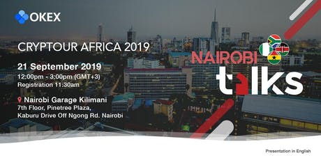 OKEx Cryptour Africa 2019 - Nairobi tickets