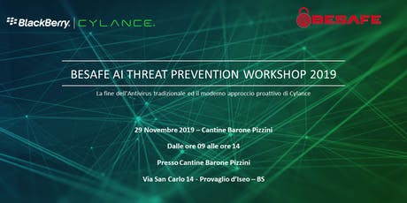 BeSafe AI Threat Prevention Workshop 2019 biglietti