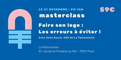 Masterclass : Mon logo, les erreurs à ne pas fair