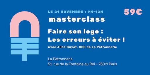 Masterclass : Mon logo, les erreurs à ne pas faire