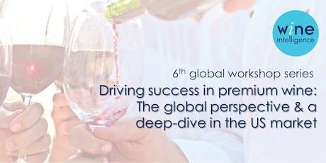 Wine Intelligence: Driving success in premium wine 2019 - Porto Session tickets