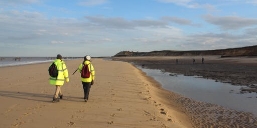 On the beach: discovering early humans in Norfolk (Being Human 2019)