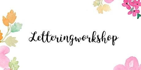 Hand-Lettering Workshop BASIC Tickets