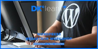 Wordpress Redakteur Workshop