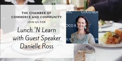 October Lunch 'N Learn with The Chamber Of Commerce And Community