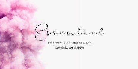 Evenement VIP  Do Terra l'expérience et nouveautés billets