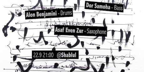 Dor Samoha's Trio live at Shablul (Fly Trio Tribute Show) tickets