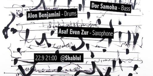 Dor Samoha's Trio live at Shablul (Fly Trio Tribute Show)