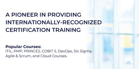 ITIL Foundation Certification Training in Dubai, UAE tickets