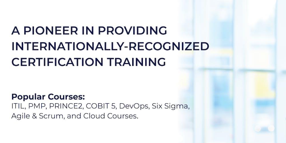 Itil Foundation Certification Training In Dubai Uae
