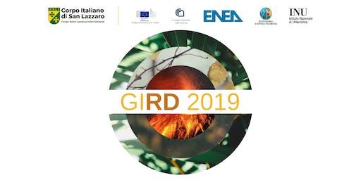 GIRD 2019 - Giornata Internazionale per la Riduzione dei Disastri