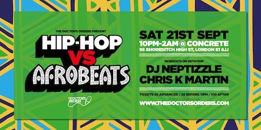 Hip-Hop vs Afrobeats