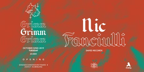 GRIMM  Opening I Nic Fanciulli Tickets