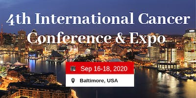 4th  International Cancer Conference And Expo