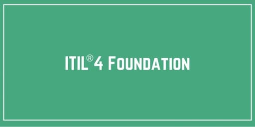 ITIL® 4 Foundation Training & Certification in London