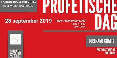 Profetische dag Houthalen Tickets