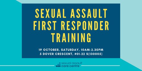19 October 2019: Sexual Assault First Responder Training tickets