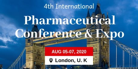 4th International Pharmaceutical Conference and Expo tickets