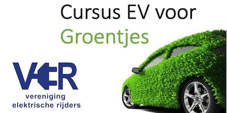 Cursus EV rijden voor Groentjes (Oost NL) tickets