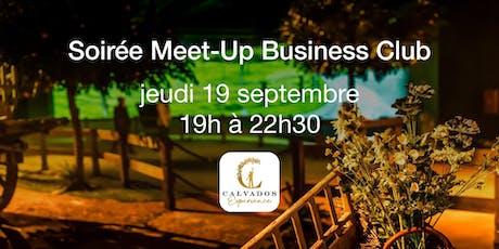 Soirée Meet-Up Business Club Normandie billets