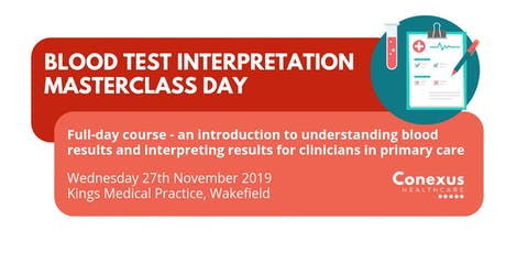 Blood Test Interpretation Masterclass Day tickets